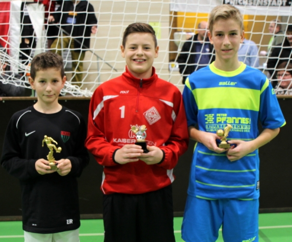 bester Torwart - Trainingslager der D1 Junioren